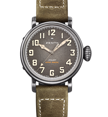 картинка АСЫ ZENITH TYPE 20 EXTRA SPECIAL - 40 MM 11.1943.679/63.C800 от магазина Одежда+