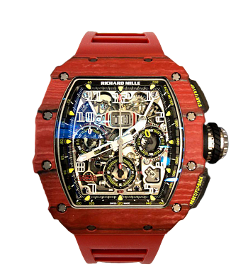 картинка ЧАСЫ RICHARD MILLE RM 11-03 RED QTPT FLYBACK CHRONO от магазина Одежда+
