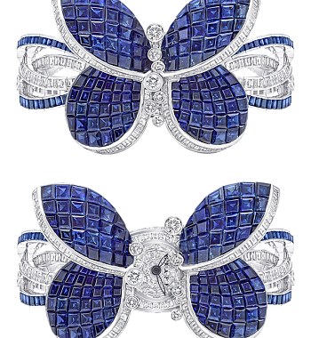 картинка ЧАСЫ GRAFF PRINCESS BUTTERFLY SAPPHIRES BUTTERFLY_PRINCESSB_DIAMONDS_SAPPHIRES от магазина Одежда+