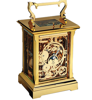 картинка ЧАСЫ L EPEE 1839 CARRIAGE CLOCK ANGLAISE SQUELETTE 64.6742/001 от магазина Одежда+