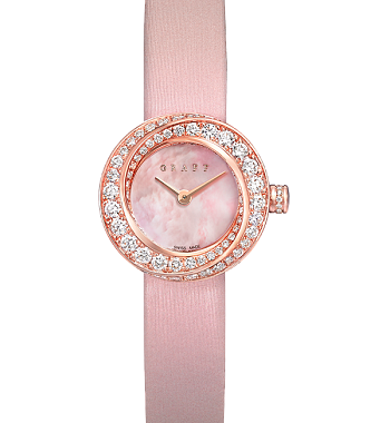 картинка ЧАСЫ GRAFF PINK MOTHER OF PEARL DIAL GSP19WGPMPD от магазина Одежда+
