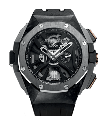 картинка ЧАСЫ AUDEMARS PIGUET ROYAL OAK CONCEPT LAPTIMER MICHAEL SCHUMACHER 26221FT.OO.D002CA.01 от магазина Одежда+